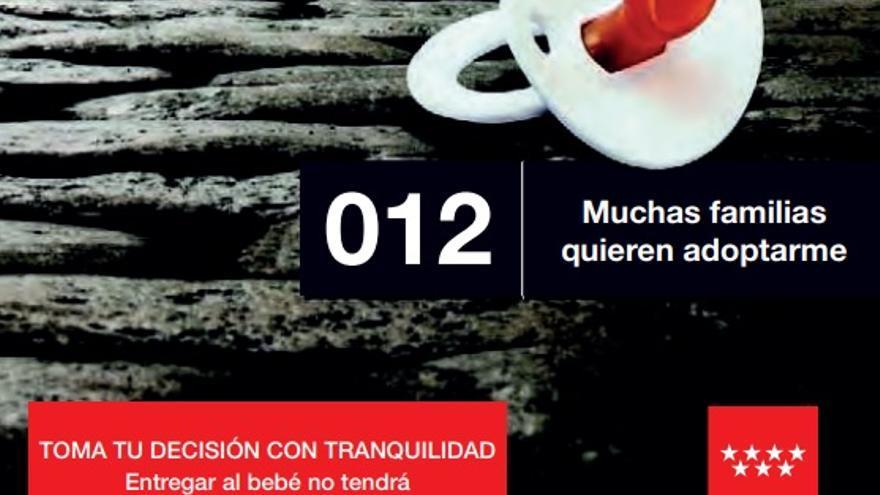 Campaña de 2016 contra el abandono de menores en la Comunidad de Madrid.