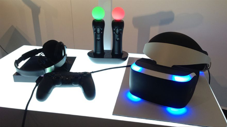Project Morpheus y PS Move