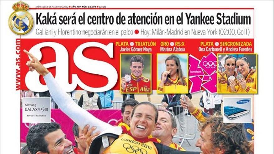 De las portadas del día (08/08/2012) #15