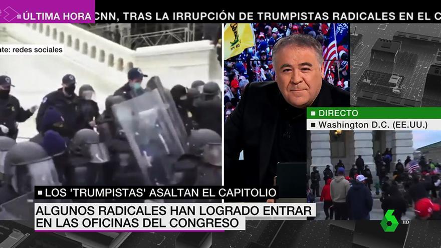 Antonio García Ferreras en el especial informativo de laSexta