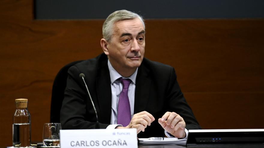 El director general de Funcas, Carlos Ocaña, en una imagen de archivo.