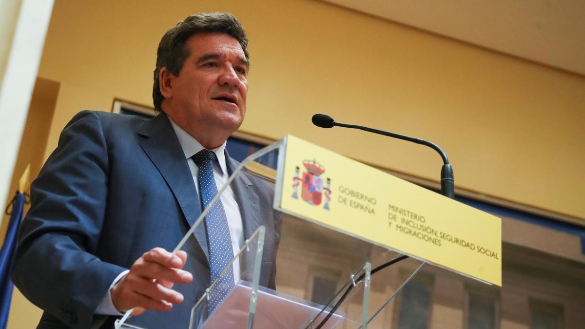 El ministro de Inclusión, Seguridad Social y Migraciones, José LuisEscrivá.