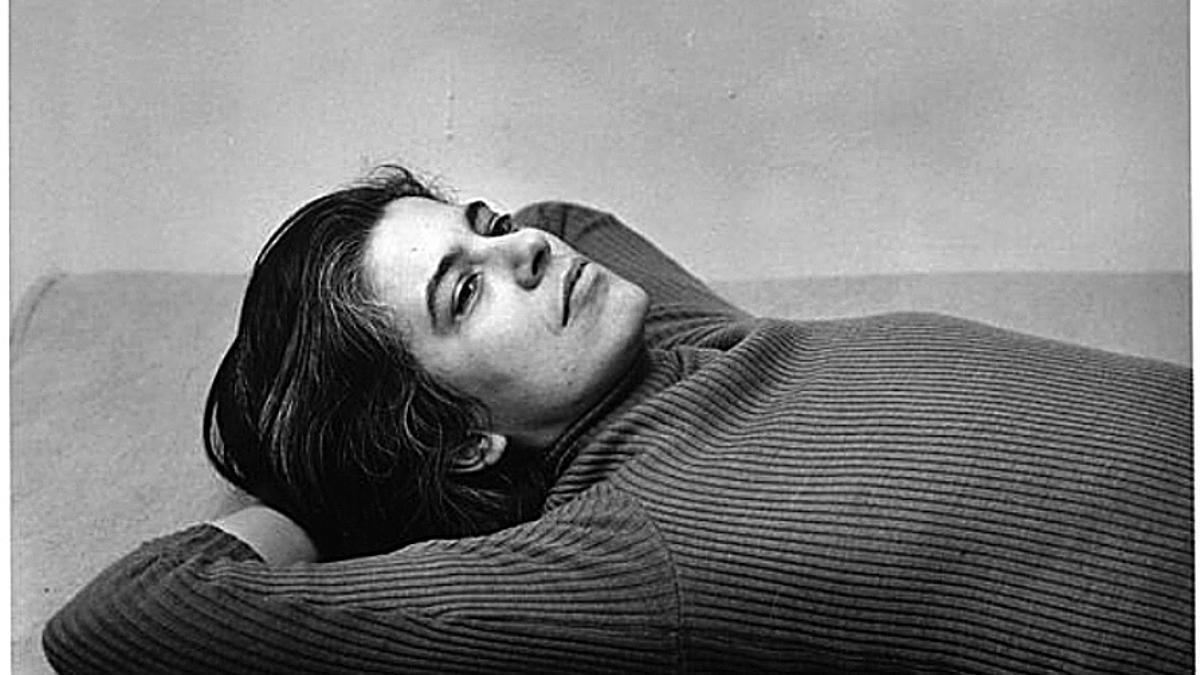 Susan Sontag, 1975. Fotografía de Peter Hujar. © 1987 The Peter Hujar Archive LLC. Cortesía de Pace/MacGill Gallery, Nueva York y, Fraenkel Gallery, San Francisco