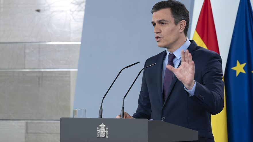 """Sánchez pide """"con todo el respeto"""" a Feijóo que deje al Gobierno hacer el único estudio de seroprevalencia"""