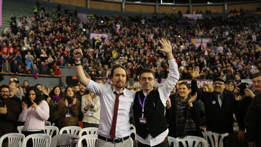 Iglesias prepara su 'gobierno a la sombra' en el que quiere incluir a Monedero, Bescansa, Errejón y sus fichajes