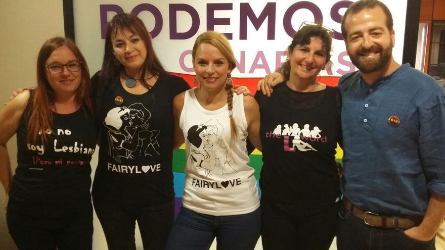 El Grupo Podemos en el Parlamento de Canarias ha reivindicado este martes el Día de la Visibilidad Lésbica.