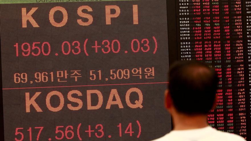 El Kospi cae 1,72 puntos, el 0,09 %, hasta las 2.005,86 unidades