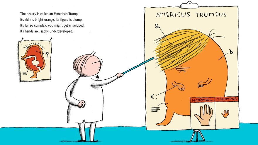 Ilustración de A Child's First Book of Trump
