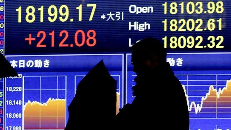 El Nikkei sube un 0,14 por ciento hasta los 19.760,01 puntos
