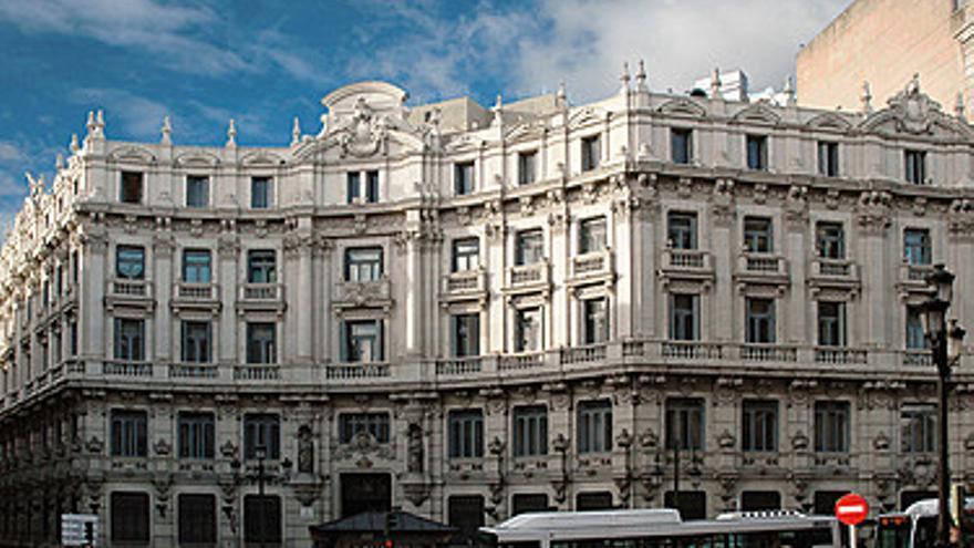 La plaza Canalejas