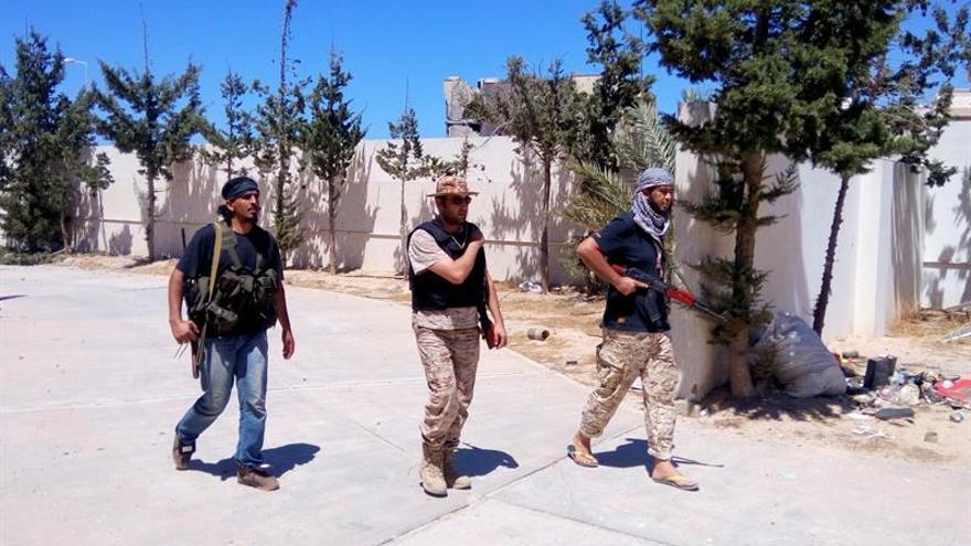 La Alianza libia se prepara para el asalto definitivo al centro de Sirte