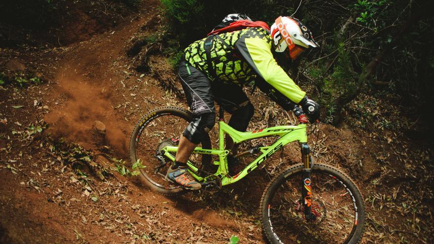 Aitor Jiménez. Foto: Transvulcania Bike.