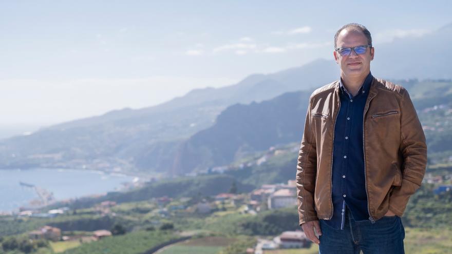 Tony Acosta, candidato de Coalición Canaria a la Alcaldía de Santa Cruz de La Palma.