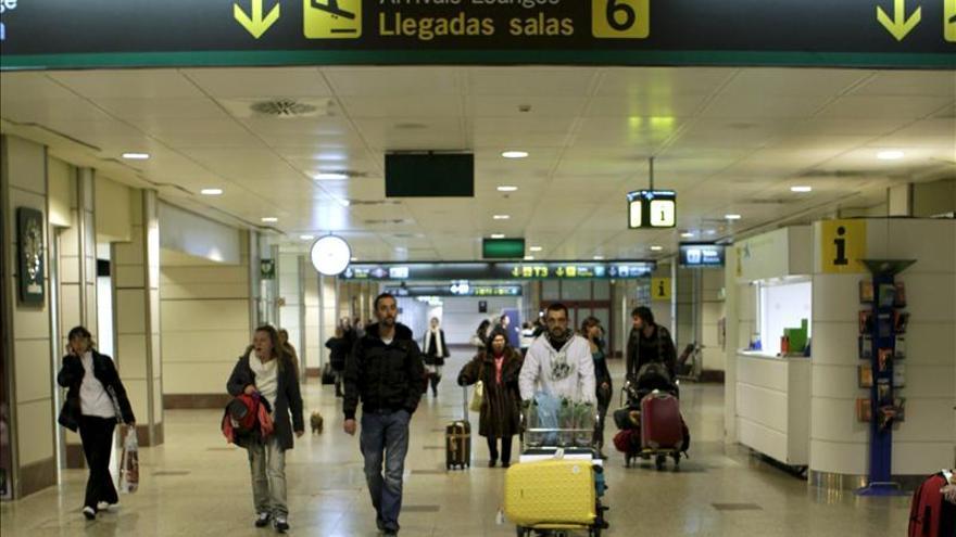 El temporal no afecta a los aeropuertos españoles, que operan a pleno rendimiento