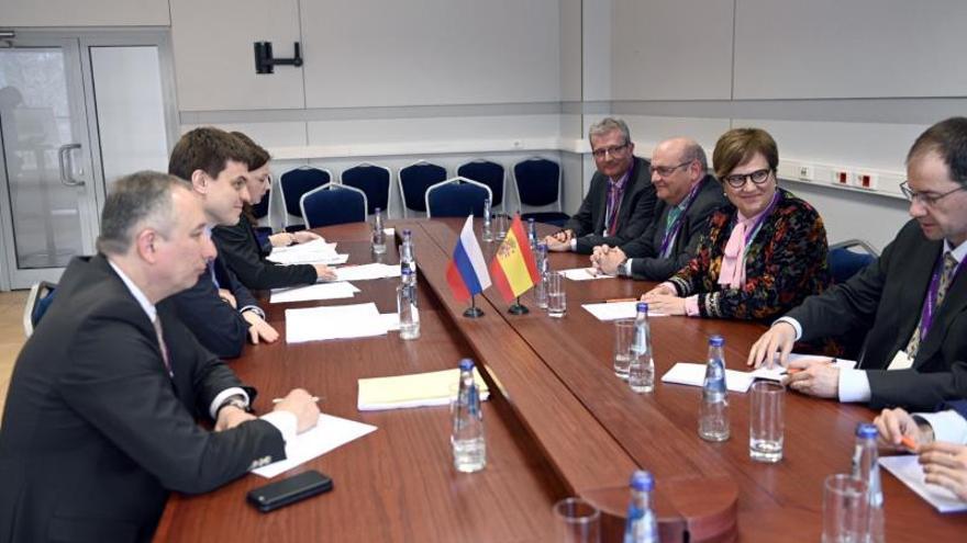 España busca profundizar la cooperación con Rusia en educación