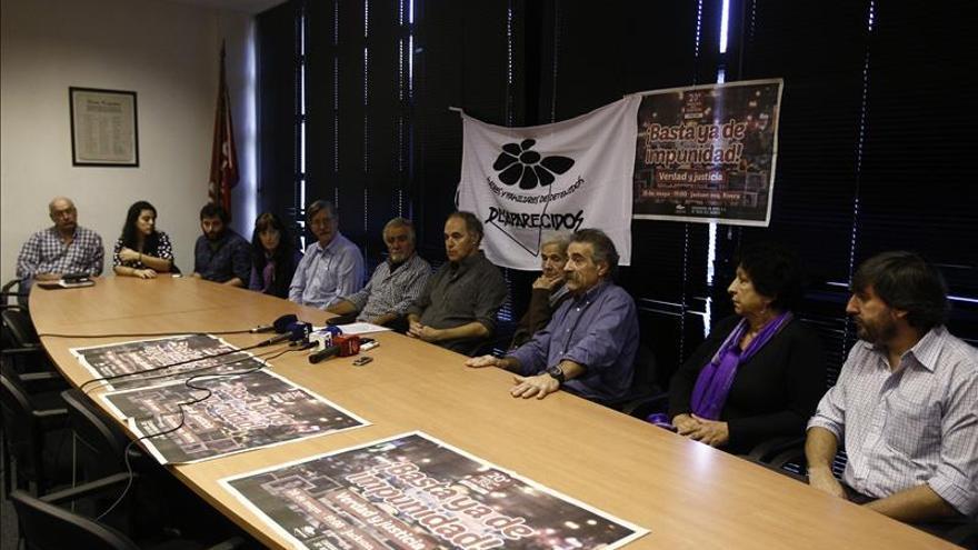 Familiares de desaparecidos en la dictadura uruguaya dicen perseguir la verdad