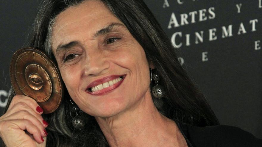 La actriz Ángela Molina, en una imagen de archivo