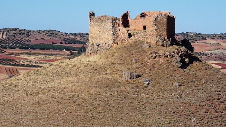 Castillo de Alarcos. En sus inmediaciones tuvo lugar la batalla que el el siglo XI ralentizó el avance de los cristianos hacia el sur. Miguel Ángel Masegosa
