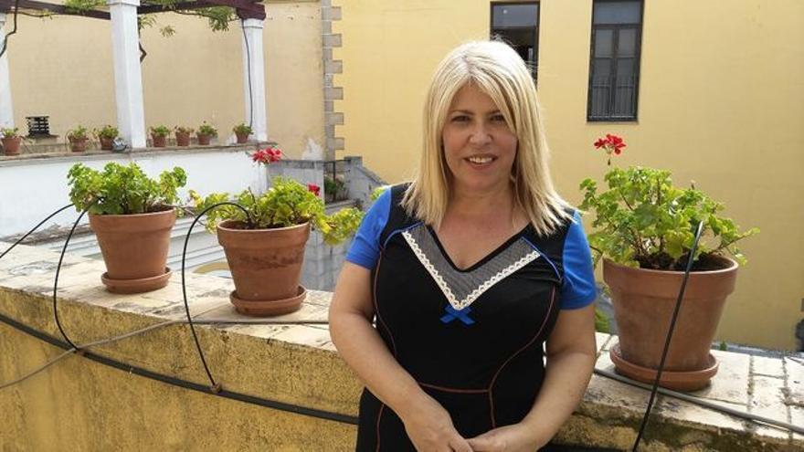 Mamen Sánchez, alcaldesa de Jerez.