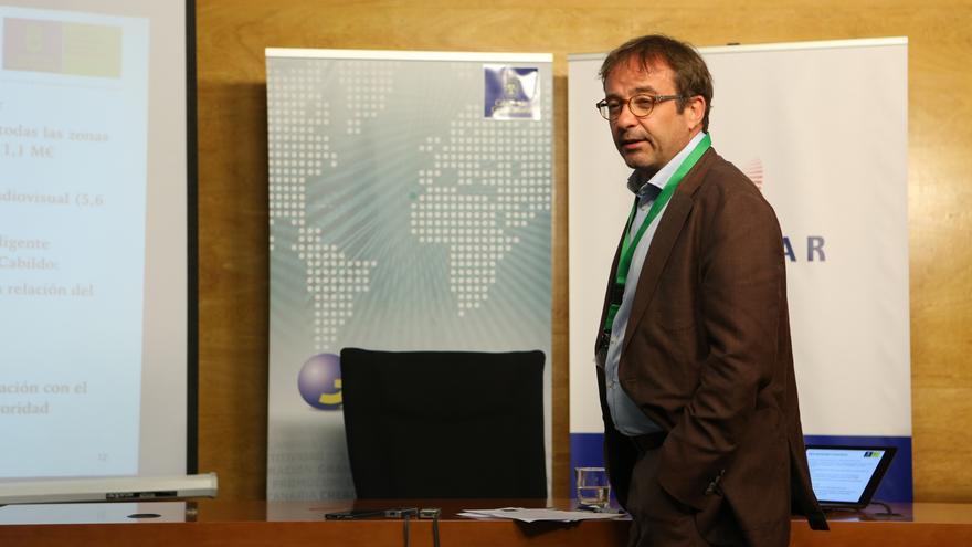 El consejero de Desarrollo Económico, Energía e I+D+i, Raúl García Brink.