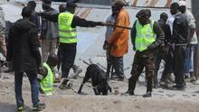 Al menos dos muertos al derrumbarse un edificio de seis plantas en Nairobi