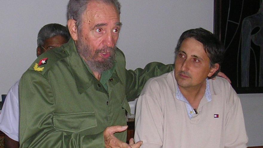 Fidel Castro junto a Pascual Serrano