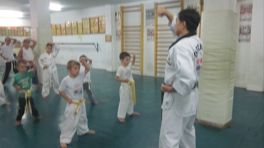 Del gimnasio 'Han Kuk' de Telde #9