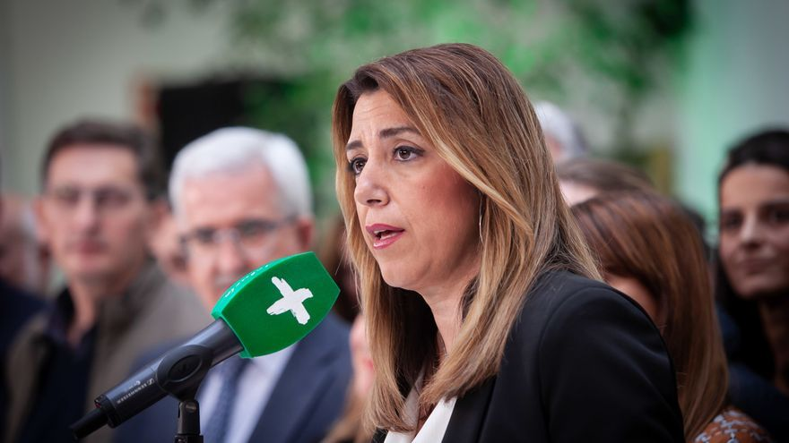 "Susana Díaz pregunta a Rivera si será como Macron u optará por Salvini y tendrá a Vox como ""colaborador activo"""
