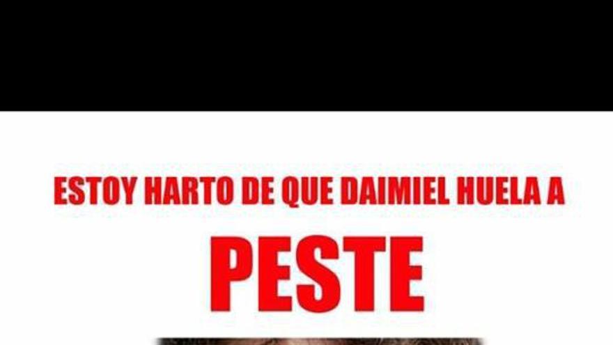 Cartel Concentración Daimiel. FOTO: Facebook Frente Cívico