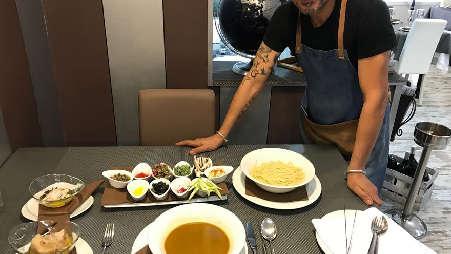 El chef Carmelo Florido.