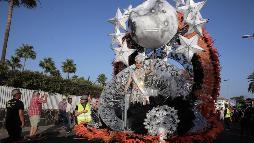 Cabalgata del Carnaval de Maspalomas.