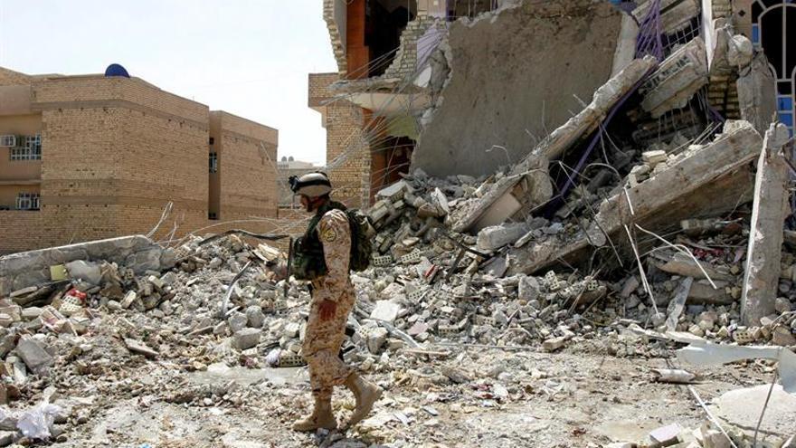 Al menos 3 muertos y 10 heridos en un ataque suicida contra la Policía en Bagdad