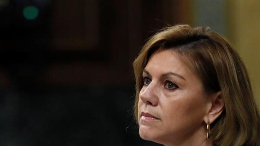 """Cospedal defiende aumento presupuestario para """"evitar pérdida de capacidades"""""""