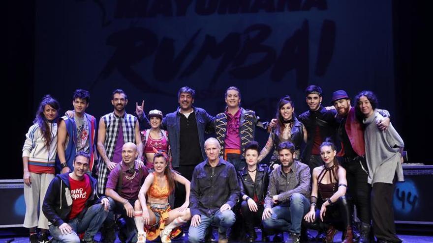 """El grupo Mayumana """"deconstruye"""" la música de Estopa en su espectáculo """"Rumba"""""""