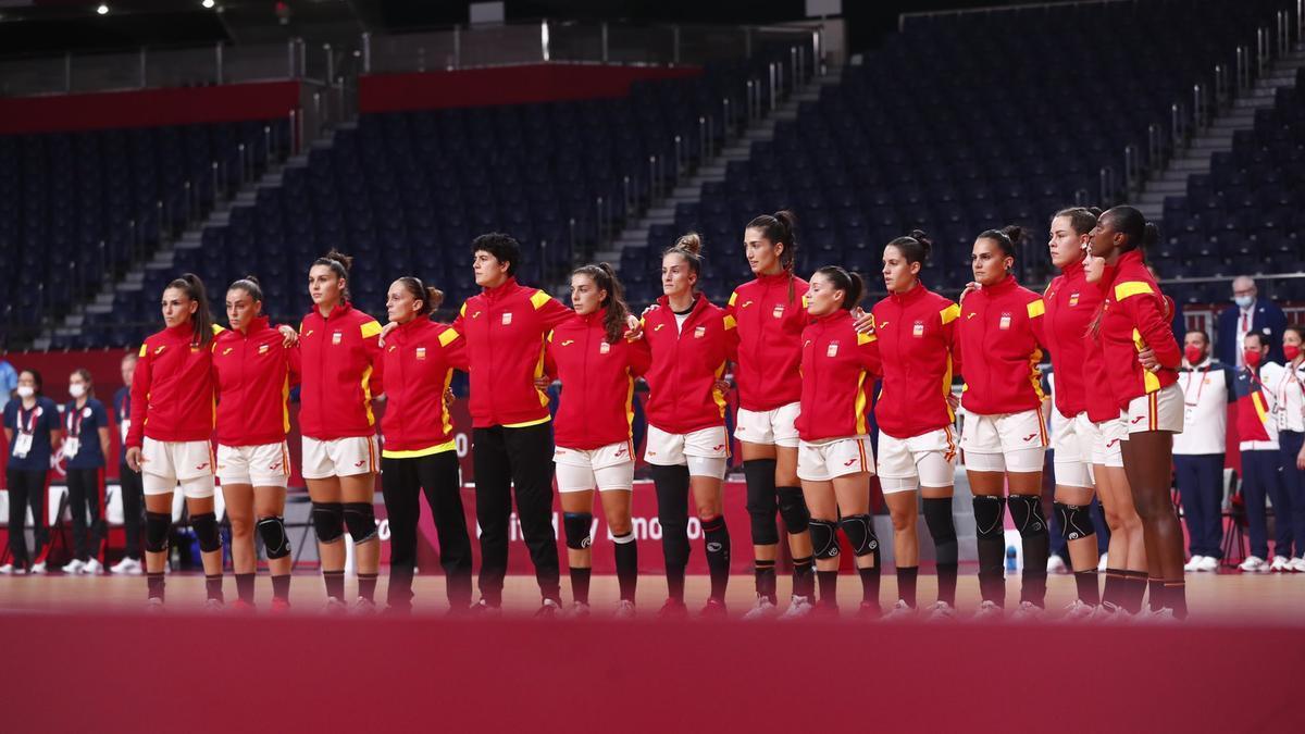 La selección española de balonmano femenino dice adiós a Japón.