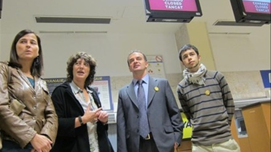 Alfred Bosch (ERC) En Campaña En Girona