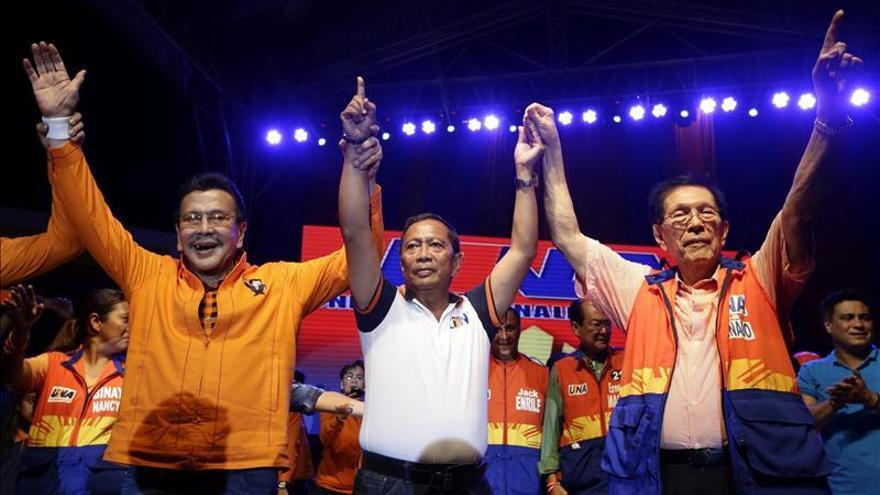 El expresidente Estrada lidera las votaciones para la Alcaldía de Manila