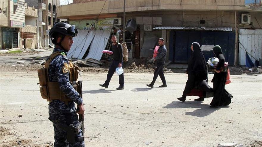 Las fuerzas iraquíes entran en uno de los bastiones del EI dentro de Mosul