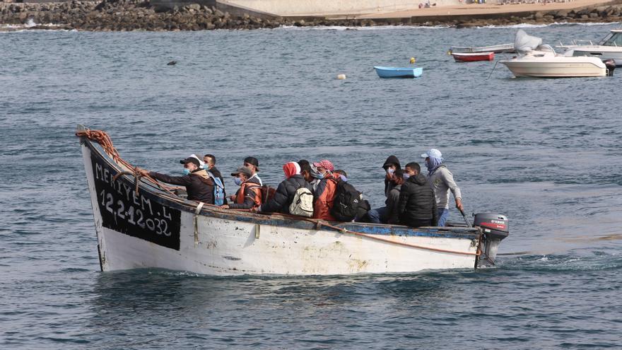 Marruecos intercepta una patera con la mitad de ocupantes egipcios y yemeníes