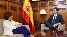 Casado rechaza la proporcionalidad que reclama Santamaría e insiste en incorporar personas valiosas de su equipo