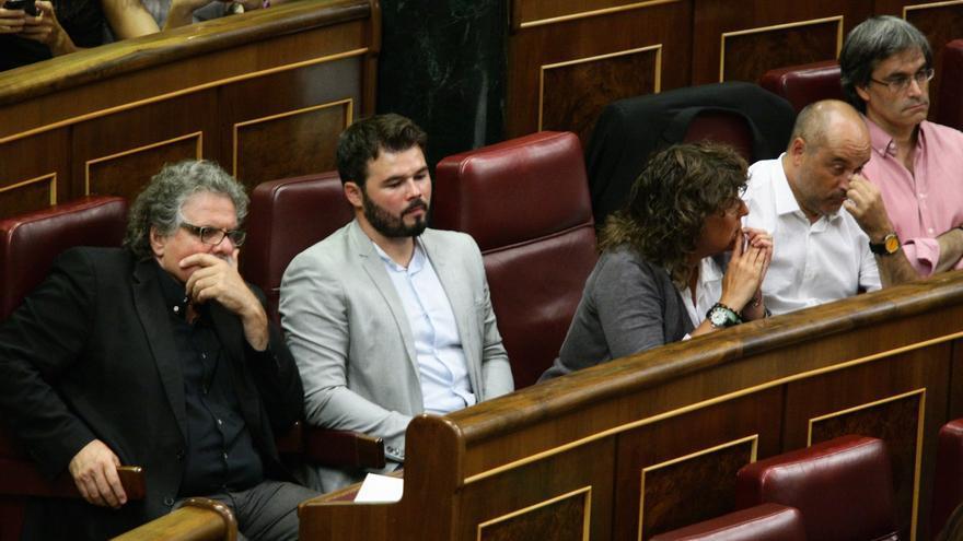 """ERC exige a Podemos que aclare si algún día """"ayudará"""" al proceso soberanista en Cataluña"""