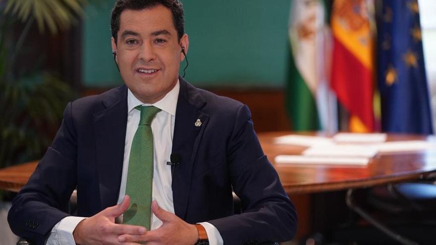 Juanma Moreno, este martes