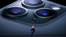 El nuevo iPhone 11 Pro de Apple tiene tres lentes en la cámara trasera y un modo noche