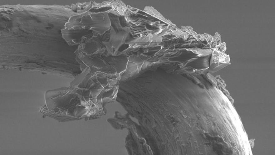 Científicos hallan agua en muestras recogidas de un asteroide