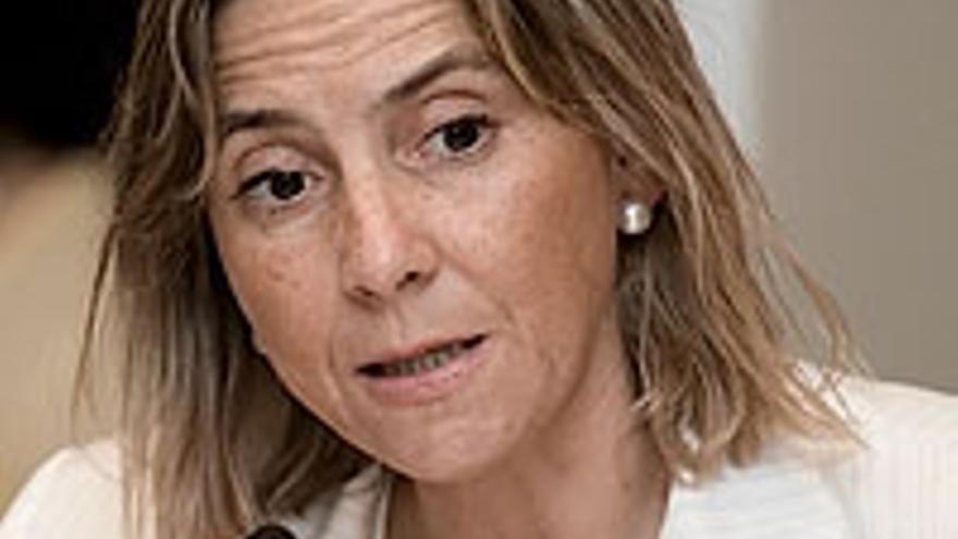 La consejera Pilar Merino.