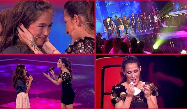 La dulce María, primera vencedora de 'La Voz Kids'