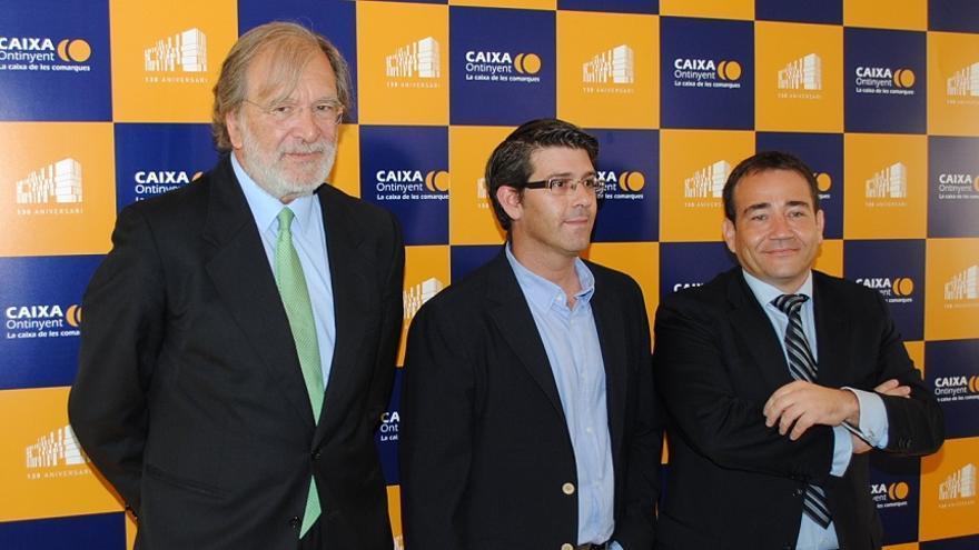 Antonio Carbonell, Jorge Rodríguez y Manuel Illueca