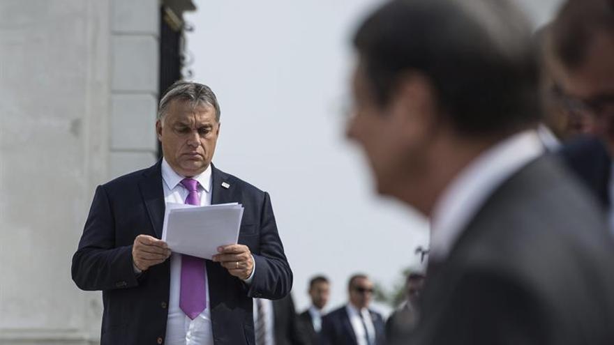 """Orbán exige a la UE que no vuelva a usar """"trucos"""" para imponer políticas"""