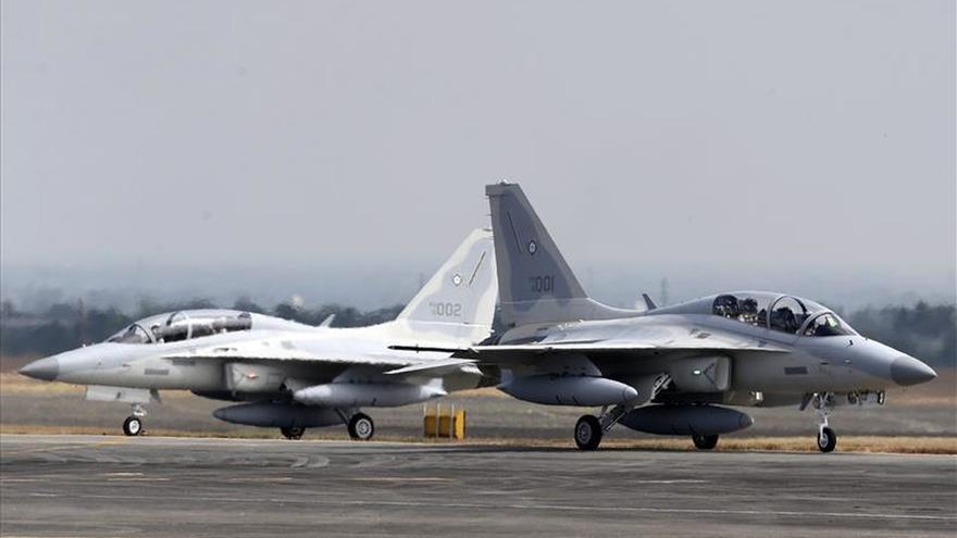 Filipinas recibe los primeros dos cazas surcoreanos para renovar su flota
