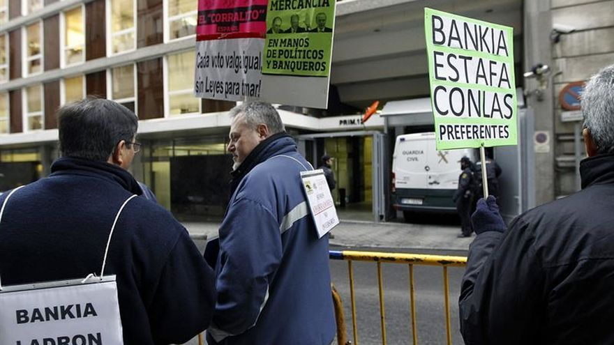 La Audiencia Nacional rechaza que declaren CNMV y Banco de España por Bankia